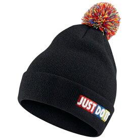 ナイキ ニット帽 ジュニア BEANIE POM 927228-010 NIKE