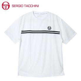 セルジオ タッキーニ SERGIO TACCHINI テニスウェア Tシャツ 半袖 メンズ ベーシック ST530317I01-WH