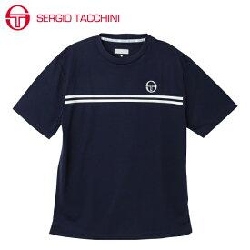 セルジオ タッキーニ SERGIO TACCHINI テニスウェア Tシャツ 半袖 メンズ ベーシック ST530317I01-NV