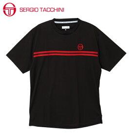 セルジオ タッキーニ SERGIO TACCHINI テニスウェア Tシャツ 半袖 メンズ ベーシック ST530317I01-BK