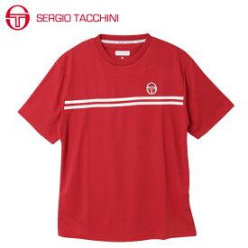 セルジオ タッキーニ SERGIO TACCHINI テニスウェア Tシャツ 半袖 メンズ ベーシック ST530317I01-RD