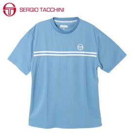 セルジオ タッキーニ SERGIO TACCHINI テニスウェア Tシャツ 半袖 メンズ ベーシック ST530317I01-SBL