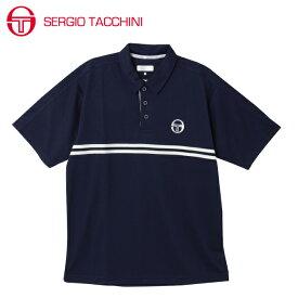セルジオ タッキーニ テニスウェア スポーツウェア 半袖シャツ メンズ ポロシャツ ベーシック ST530317I02-NV SERGIO TACCHINI