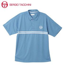 セルジオ タッキーニ テニスウェア スポーツウェア 半袖シャツ メンズ ポロシャツ ベーシック ST530317I02-SBL SERGIO TACCHINI