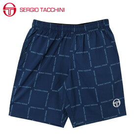 セルジオ タッキーニ テニスウェア ハーフパンツ メンズ グラフィックハーフパンツ ST530319I02-NV SERGIO TACCHINI