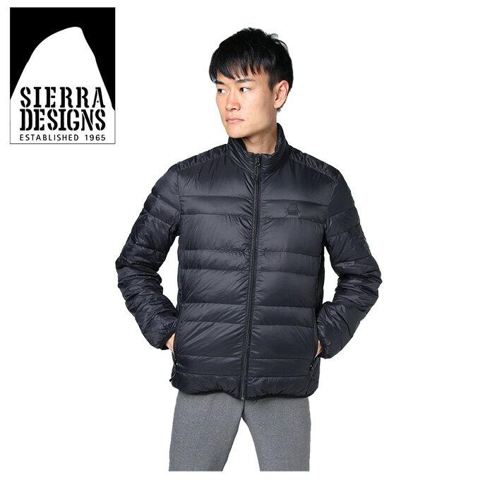 シェラデザイン SIERRA DESIGNS ダウンジャケット メンズ 撥水DW JK 20926465 BK