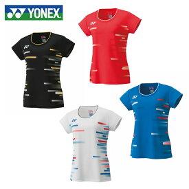 ヨネックス テニスウェア バドミントンウェア ゲームシャツ レディース スタンダードサイズ 限定ゲームシャツ 20466 YONEX 日本バドミントン協会審査合格品