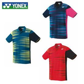 ヨネックス テニスウェア バドミントンウェア ゲームシャツ メンズ レディース スタンダードサイズ ポロシャツ 10305 YONEX 日本バドミントン協会審査合格品