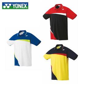 ヨネックス テニスウェア バドミントンウェア ゲームシャツ メンズ レディース スタンダードサイズ ポロシャツ 10306 日本バドミントン協会審査合格品 YONEX