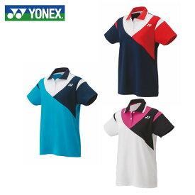 ヨネックス テニスウェア バドミントンウェア ゲームシャツ レディース スタンダードサイズ ポロシャツ 20487 YONEX 日本バドミントン協会審査合格品