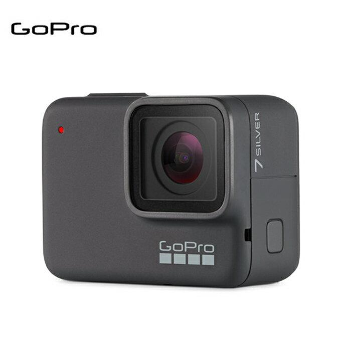 ゴープロ GoPro 小型ビデオカメラ HERO7 Silver CHDHC-601-FW