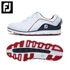 【ポイント5倍 2/3 9:59まで】 フットジョイ FootJoy ゴルフシューズ スパイクレス メンズ NEW ProSL Boa 53290 W