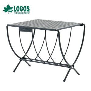 ロゴス 薪ラックテーブル アイアングリルテーブル 81064154 LOGOS