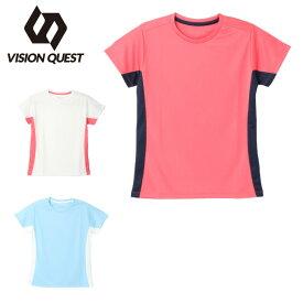 Tシャツ 半袖 ジュニア 機能Tシャツ VQ451502I10 ビジョンクエスト VISION QUEST