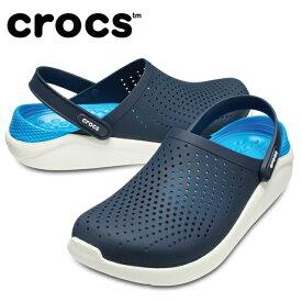 【9/1 23時59分まで 送料無料】 クロックス サンダル メンズ LiteRide Clog ライトライド クロッグ 204592-462 crocs