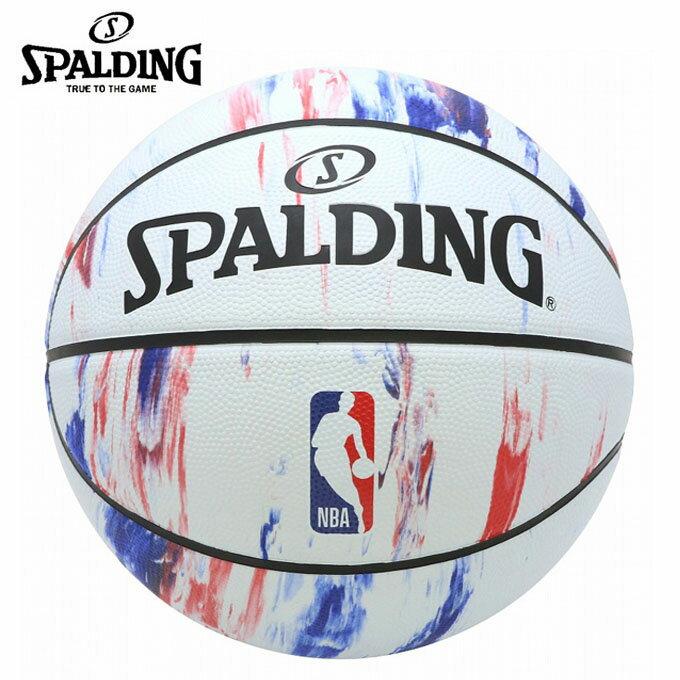 スポルディング SPALDING バスケットボール 7号球 NBA LOGO ロゴ マーブル 83-934J