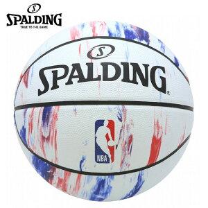 スポルディング バスケットボール 7号球 NBA LOGO ロゴ マーブル 83-934J 屋外用 SPALDING