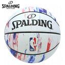 スポルディング バスケットボール 5号球 NBA LOGO ロゴ マーブル 83-928J 屋外用 SPALDING