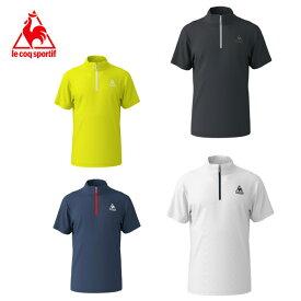ルコック le coq sportif ポロシャツ 半袖 メンズ ワンポイントHZ機能Tシャツ QMMNJA70ZZ