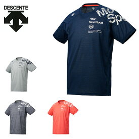 デサント DESCENTE スポーツウェア 半袖 メンズ BRZ+メランジメッシュ機能Tシャツ DMMNJA62
