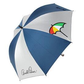 【基本送料無料 1/22 12:00〜2/3 9:59】 アーノルドパーマー arnold palmer ゴルフ 傘 メンズ レディース アーノルドパーマー銀パラソル 54132-00302