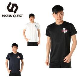 ハンドボールウェア 半袖シャツ メンズ グラフィック VQ570105I01 ビジョンクエスト VISION QUEST