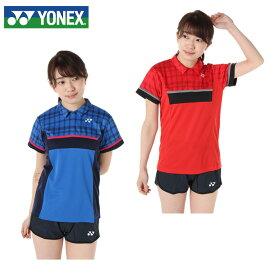 ヨネックス テニスウェア バドミントンウェア ゲームシャツ レディース ウィメンズポロシャツ スタンダードサイズ 20336 YONEX 日本バドミントン協会審査合格品