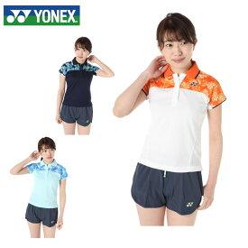 ヨネックス テニスウェア バドミントンウェア ゲームシャツ レディース ウィメンズポロシャツ スタンダードサイズ 20380 YONEX 日本バドミントン協会審査合格品