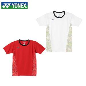 ヨネックス テニスウェア バドミントンウェア Tシャツ 半袖 ジュニア キッズ 10235J 日本バドミントン協会審査合格品 YONEX