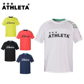 アスレタ ATHLETA サッカーウェア プラクティスシャツ 半袖 メンズ レディース カラープラクティスシャツ 02312