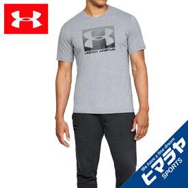 【ポイント10倍 9/24 1:59まで】 アンダーアーマー Tシャツ 半袖 メンズ UAボックススポーツスタイル ショートスリーブ ライフスタイル MEN 1329581 035 UNDER ARMOUR