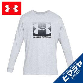 アンダーアーマー Tシャツ 長袖 メンズ UAボックススポーツスタイル ロングスリーブ トレーニング Tシャツ 1329586-037 UNDER ARMOUR