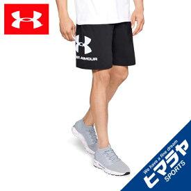 アンダーアーマー ハーフパンツ メンズ UAスポーツスタイル コットングラフィックショーツ 1329300-001 UNDER ARMOUR