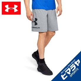アンダーアーマー ハーフパンツ メンズ UAスポーツスタイル コットングラフィックショーツ 1329300-035 UNDER ARMOUR
