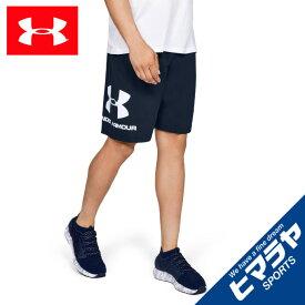 アンダーアーマー ハーフパンツ メンズ UAスポーツスタイル コットングラフィックショーツ 1329300 408 UNDER ARMOUR