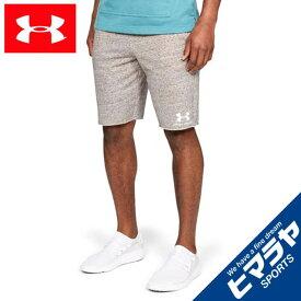 アンダーアーマー ショートパンツ メンズ UAスポーツスタイル テリーショーツ トレーニング 1329288-112 UNDER ARMOUR