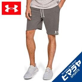 アンダーアーマー ショートパンツ メンズ UAスポーツスタイル テリーショーツ トレーニング 1329288-221 UNDER ARMOUR
