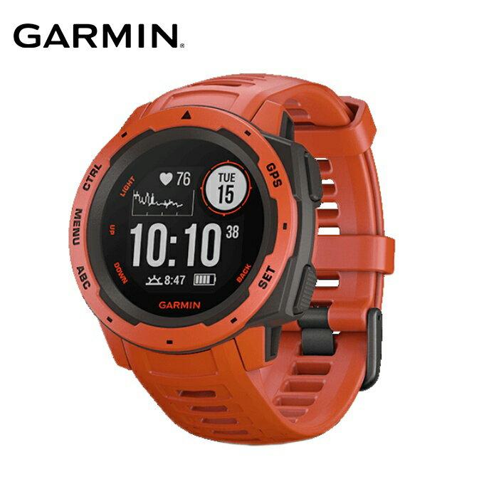 ガーミン ランニングウォッチ メンズ レディース Instinct Flame Red 010-02064-32 GARMIN