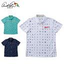 アーノルドパーマー arnold palmer ゴルフウェア ポロシャツ 半袖 レディース トビ柄半袖ポロシャツ AP220301I05
