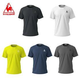 ルコック le coq sportif スポーツウェア 半袖 メンズ ワンポイント機能Tシャツ QMMNJA30ZZ