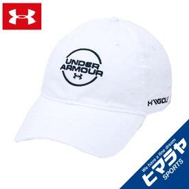 アンダーアーマー ゴルフ キャップ メンズ UAジョーダンスピース ウォッシュドコットンキャップ MEN 1328671-100 UNDER ARMOUR