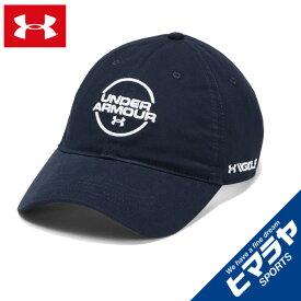 アンダーアーマー ゴルフ キャップ メンズ UAジョーダンスピース ウォッシュドコットンキャップ MEN 1328671-408 UNDER ARMOUR