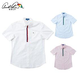 アーノルドパーマー arnold palmer ゴルフウェア 半袖シャツ メンズ オックスフォード半袖シャツ AP220101I01