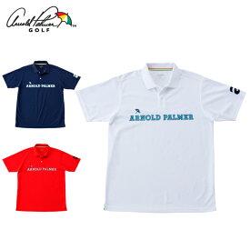 アーノルドパーマー arnold palmer ゴルフウェア ポロシャツ 半袖 メンズ 胸ロゴ鹿の子半袖ポロ AP220101I05