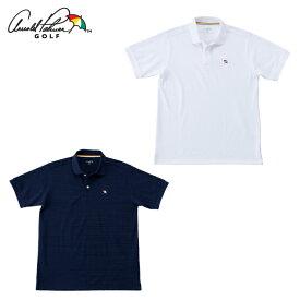 アーノルドパーマー arnold palmer ゴルフウェア ポロシャツ 半袖 メンズ ベーシック鹿の子半袖ポロ AP220101I10