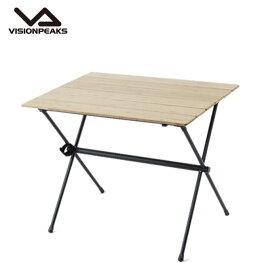 ビジョンピークス VISIONPEAKS アウトドアテーブル 大型テーブル バンブーソリッドロールテーブル VP160401I03