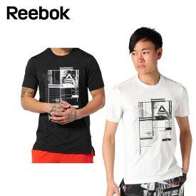 リーボック Reebok Tシャツ 半袖 メンズ WOR リサイクル グラフィック ショートスリーブ テックトップ FKQ78