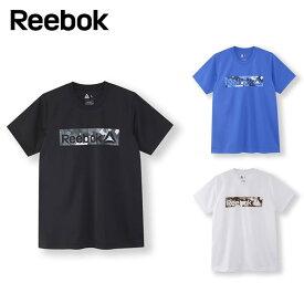 リーボック Reebok Tシャツ 半袖 メンズ ワンシリーズ モックアイレット グラフィック ショートスリーブTシャツ FTQ74