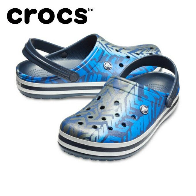 クロックス サンダル メンズ レディース クロックバンド グラフィック 3.0 クロッグ 205330-0DG crocs