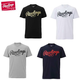 ローリングス Rawlings 野球ウェア 半袖Tシャツ メンズ ビックロゴTシャツ AST9S09